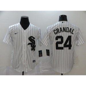 Chicago White Sox Yasmani Grandal White Jersey
